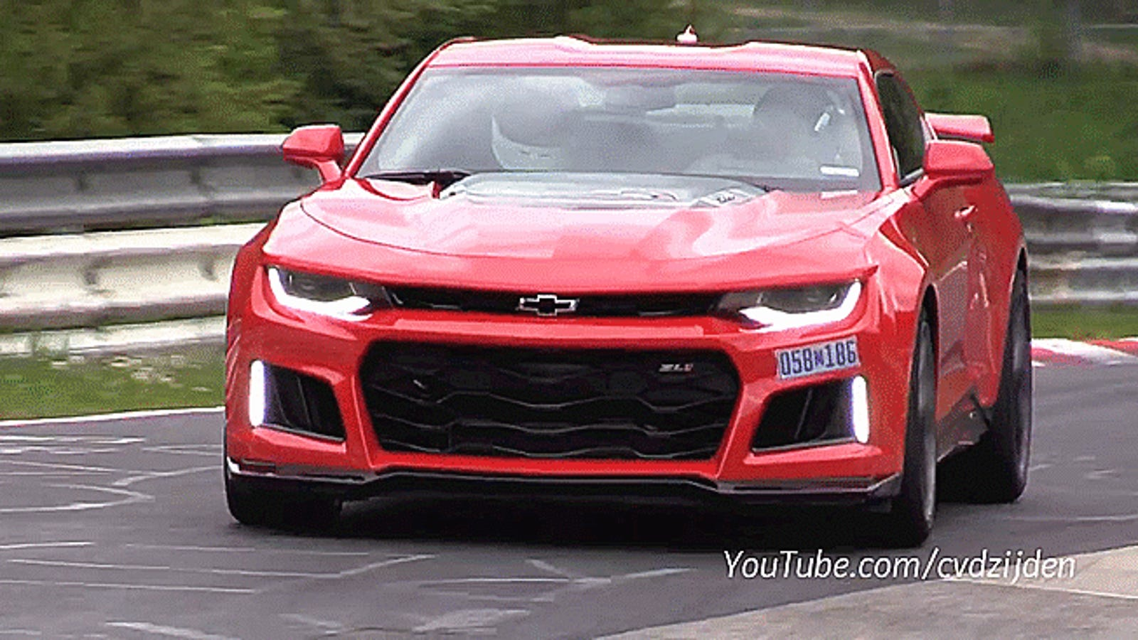 Melt Your Brain To The Sound Of The 2017 Camaro Zl1 On The