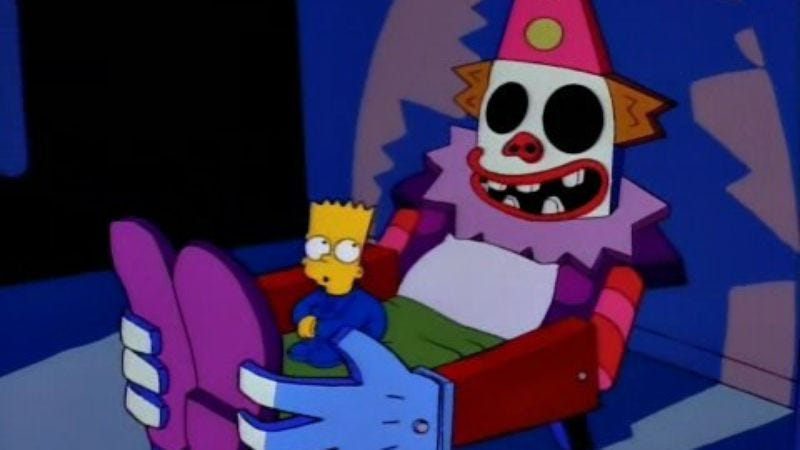 Illustration for article titled Ryan Murphy assures viewers that his killer clown is actually terrifying
