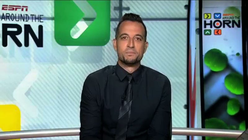 Illustration for article titled Tony Reali Made An Emotional Return To ESPN After The Death Of His Son