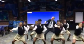 Ron Clark and students at Ron Clark AcademyVideo Screenshot