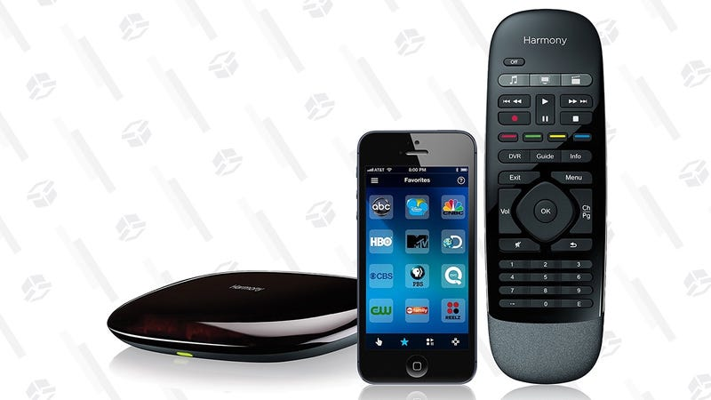 a5e77f7f35d This $50 Harmony Bundle Also Turns Your Smartphone Into a TV Remote