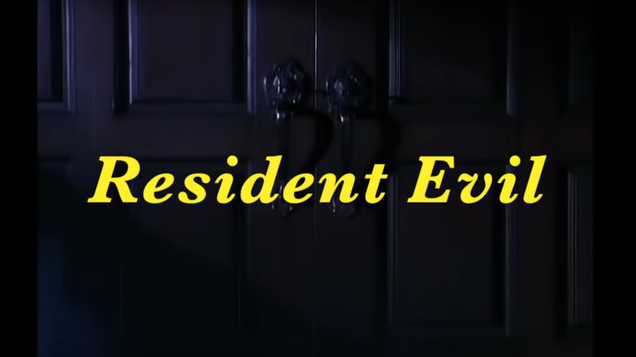 Original Resident Evil Intro Turned Into An 80s Sitcom