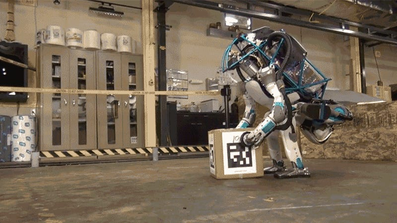 Watch the Next Generation Atlas Robot Get Bullied By A ...