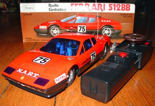 Illustration for article titled Beyond Ultrasonic: Sears RC Ferrari