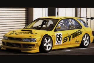 Illustration for article titled SYMS Impreza wagon JTCC racer