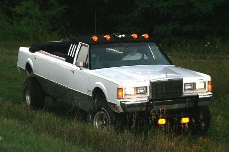 Lifted Convertible Lincoln Limochero Is As Bitchin As It Sounds