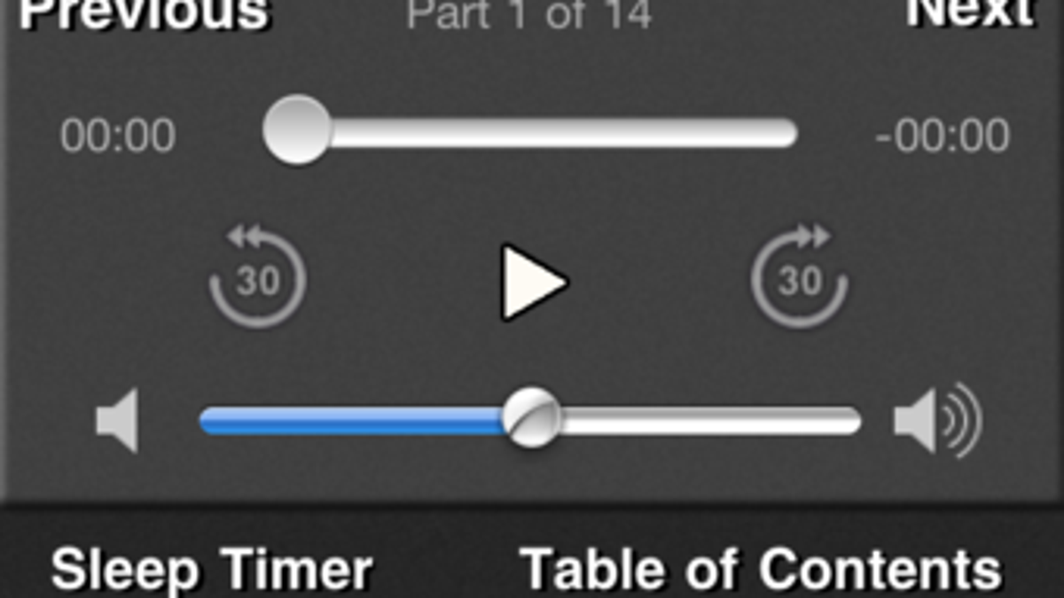 Audiobooks for iOS Lets You Listen to Audiobooks for Free