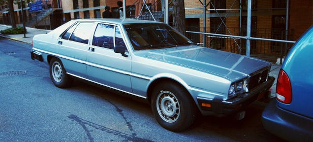 We're Going Carspotting In The Automotive Retirement Home Of The Upper West Side