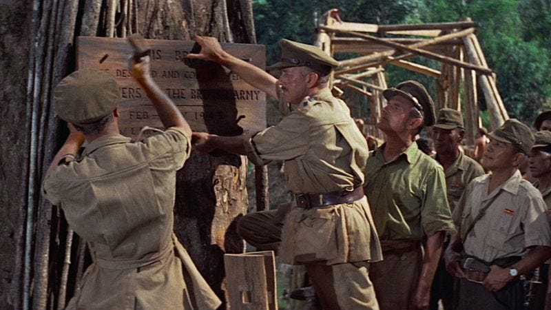 Illustration for article titled Bridge On The River Kwai was a watershed moment for its director and star
