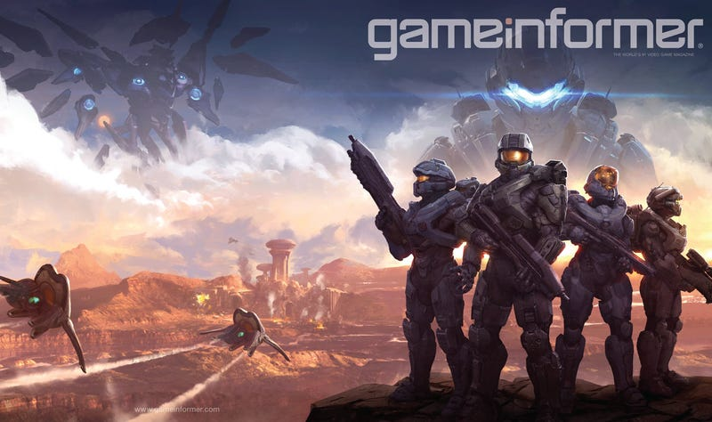Illustration for article titled Master Chief Will Lead Blue Team In Halo 5: Guardians