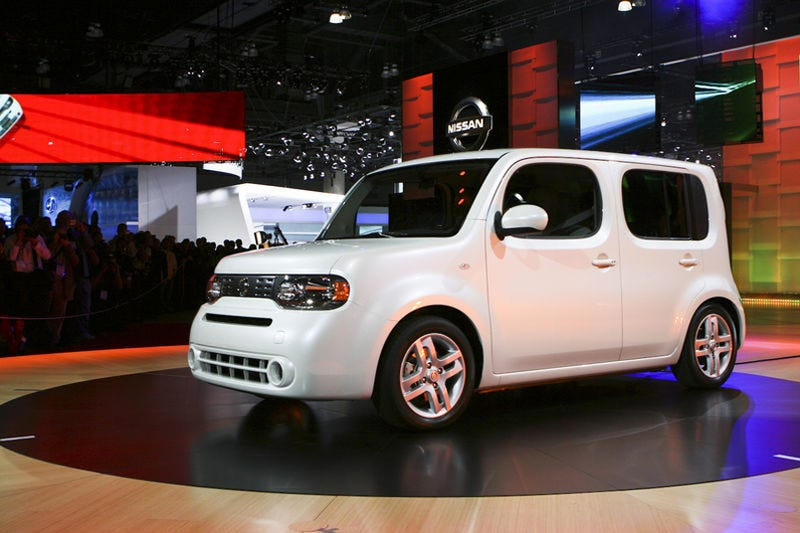 Illustration for article titled 2009 Nissan Cube Revealed
