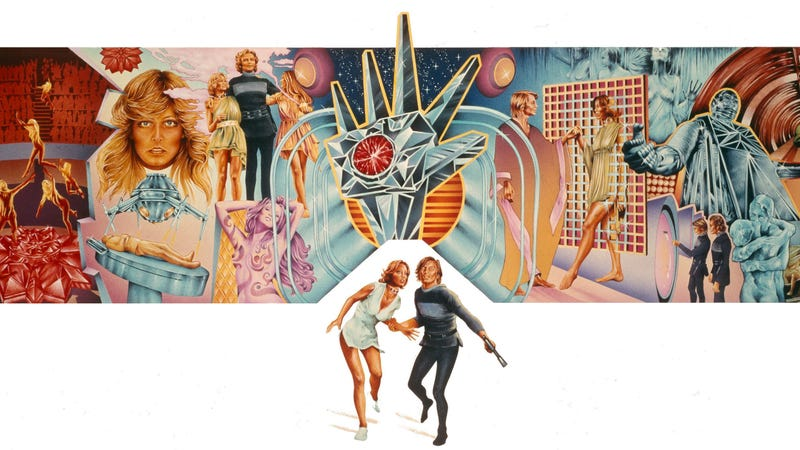 The poster for 1976's Logan's Run.