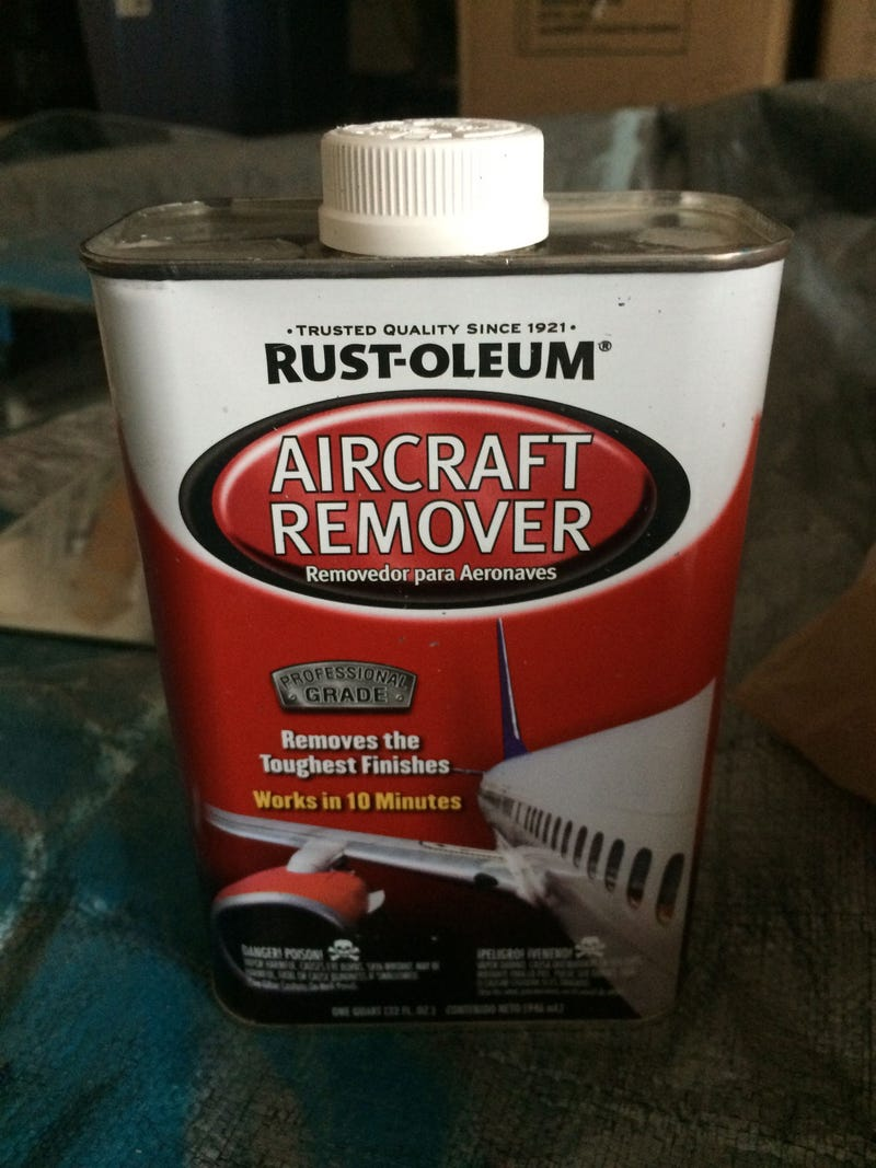 Illustration for article titled Rust-oleum Aircraft Remover