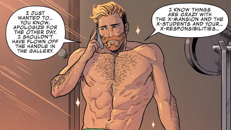 Illustration for article titled We Have Got to Talk About the Glorious Abs of Marvel's Star-Lord