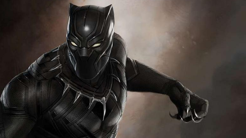 Original Black Panther Concept Art revealed during Marvel's Phase 3 announcement conference.