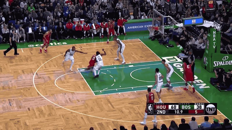Al Horford's game-winning jump hook vs. Rockets