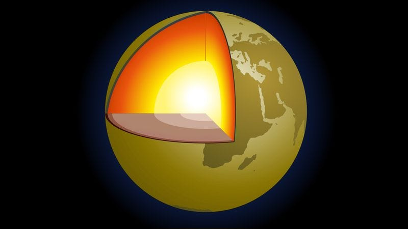 Illustration for article titled New Study Finds Earth's Core Will Be Most Habitable Part Of Planet By 2060
