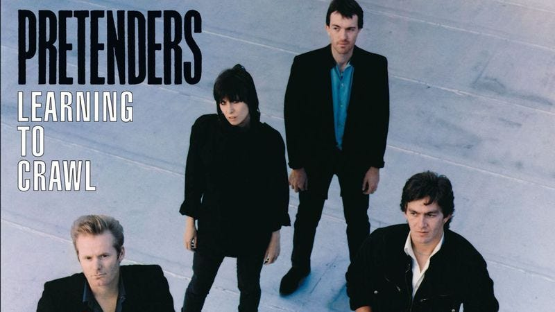Illustration for article titled The Pretenders' Learning To Crawl was a triumphant comeback from tragedy