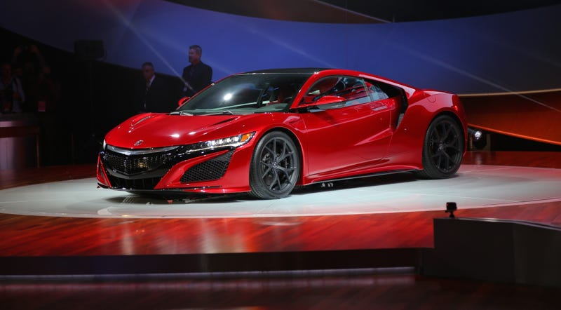 What Exactly Will The 2016 Acura NSX Compete Against