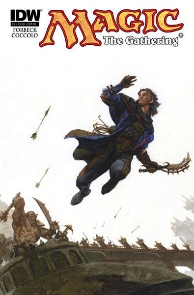 Illustration for article titled An Exclusive First Look At Cover Art From The New Magic: The Gathering Comic