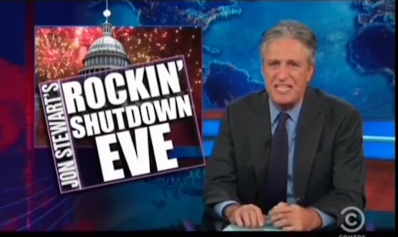 Illustration for article titled Jon Stewart Ripping Into the GOP Is a Thing of Beauty
