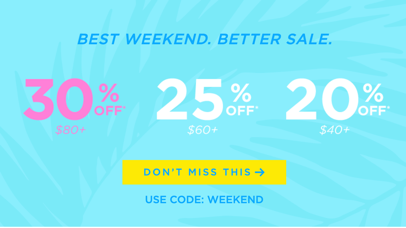 Up to 30% Off Sitewide | Tarte Cosmetics | Promo code WEEKEND