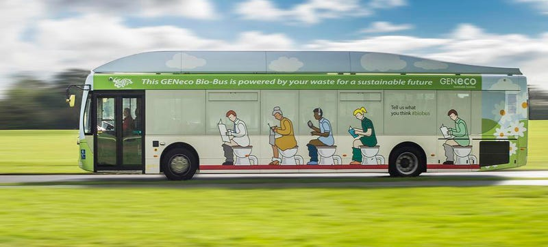 Illustration for article titled The UK Now Has Poop-Powered Buses