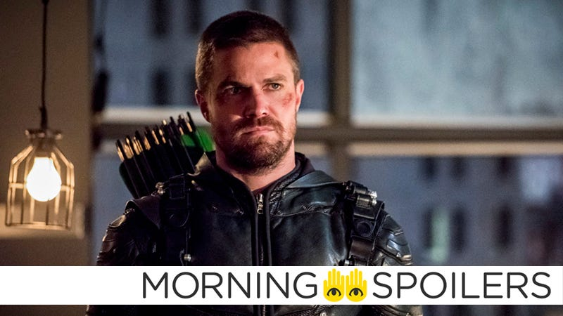 Stephen Amell at Arrow.
