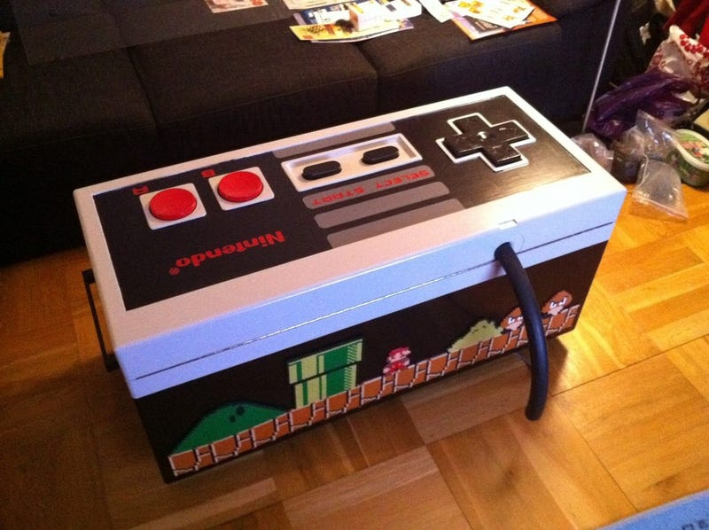 - This Coffee Table Is A Giant Working Nintendo Controller