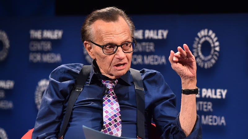 Illustration for article titled TMZ says Larry King had a heart attack, though his production company denies it