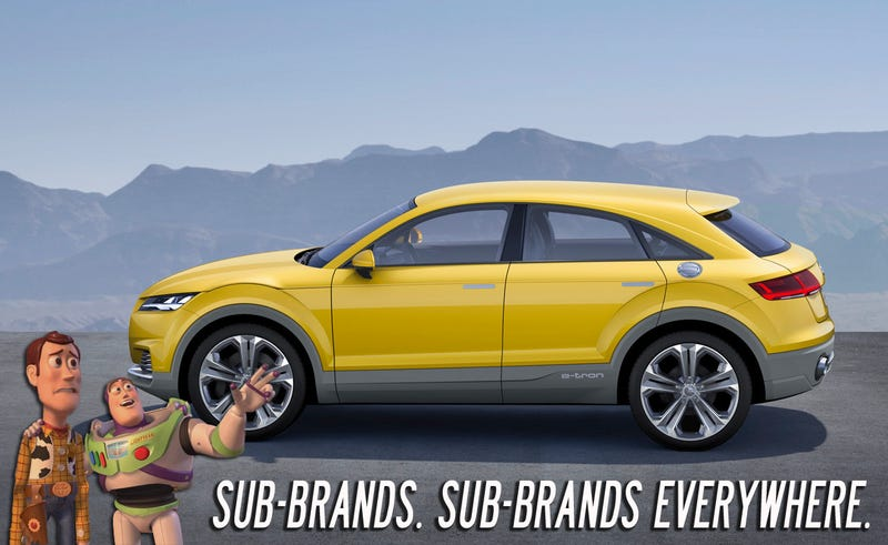 Illustration for article titled Audi's TT Sub-Brand Is Just A Glimpse Of What The Future Holds