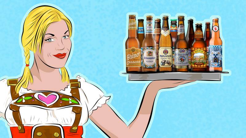 Illustration for article titled 19 Oktoberfest Beers, Ranked