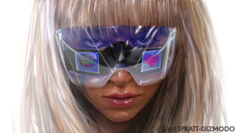 Illustration for article titled How Lady Gaga Just Reinvented Eye Contact