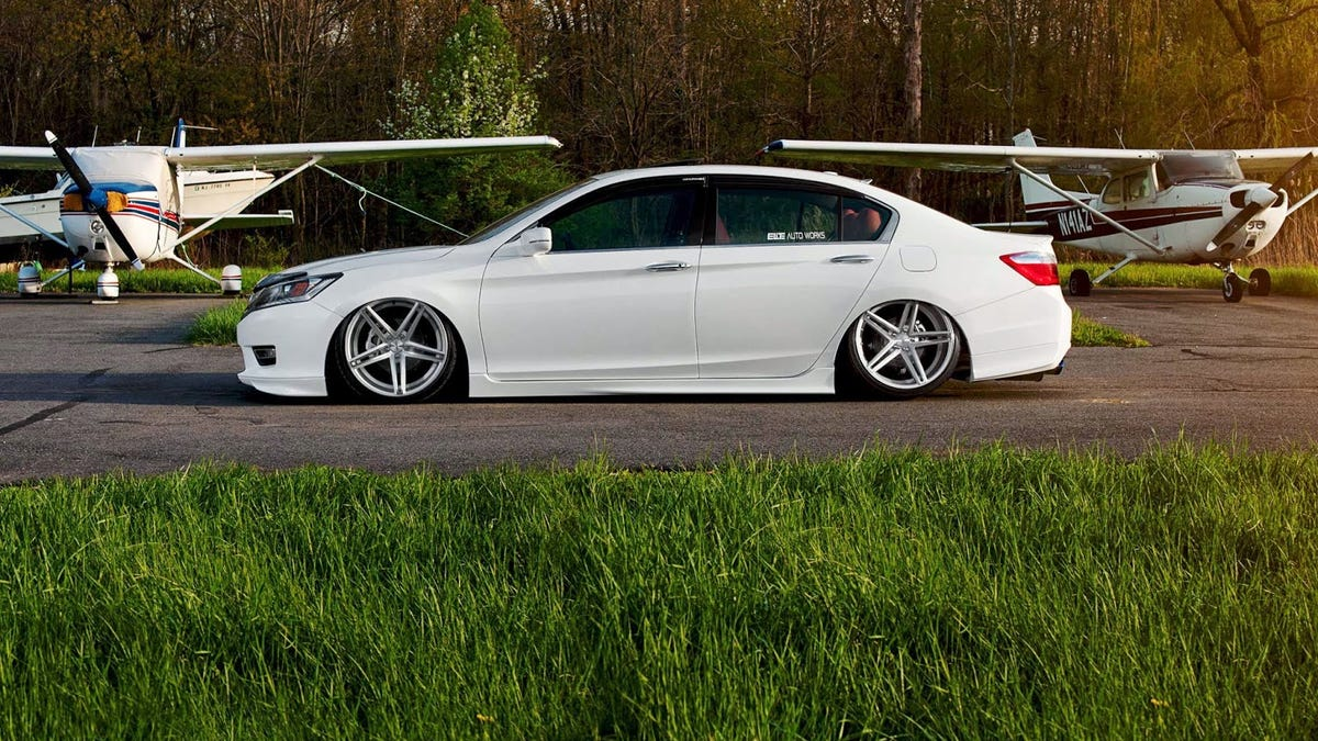 Wheel Thieves Are Targeting The Honda Accord Sport