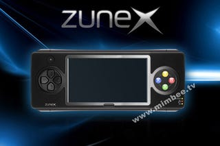 Illustration for article titled Is Microsoft's ZuneX Really Their Portable Xbox Phone?