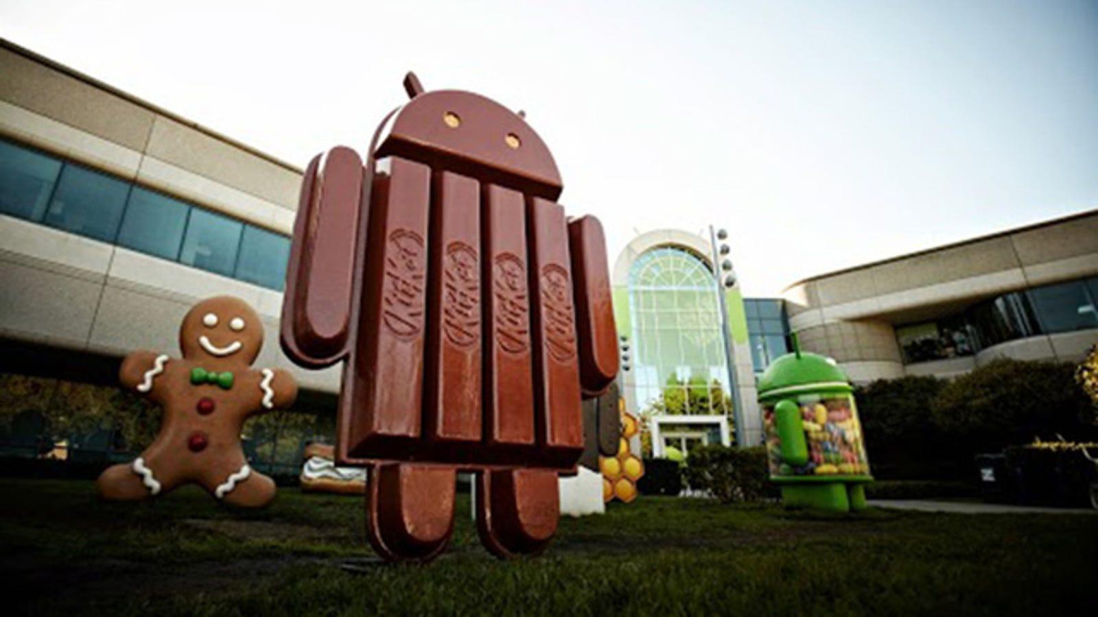 La próxima versión de Android se llamará... KitKat