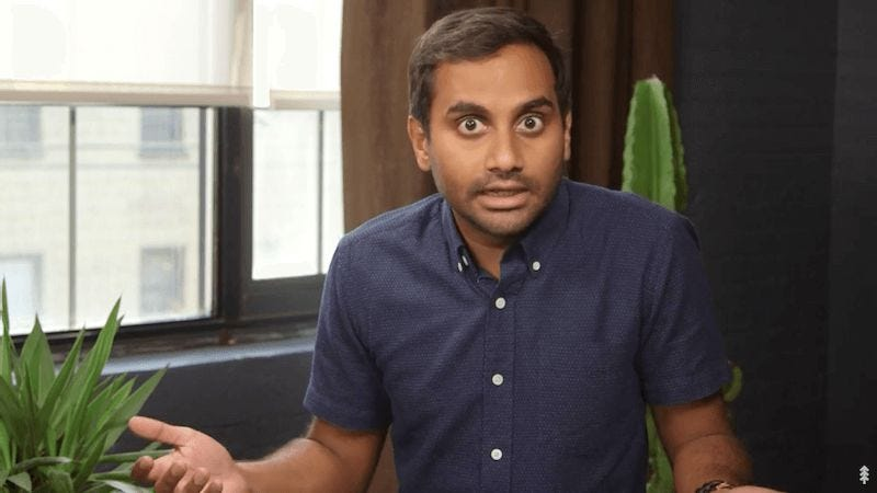 Screenshot: Aziz Ansari Wants You To Vote