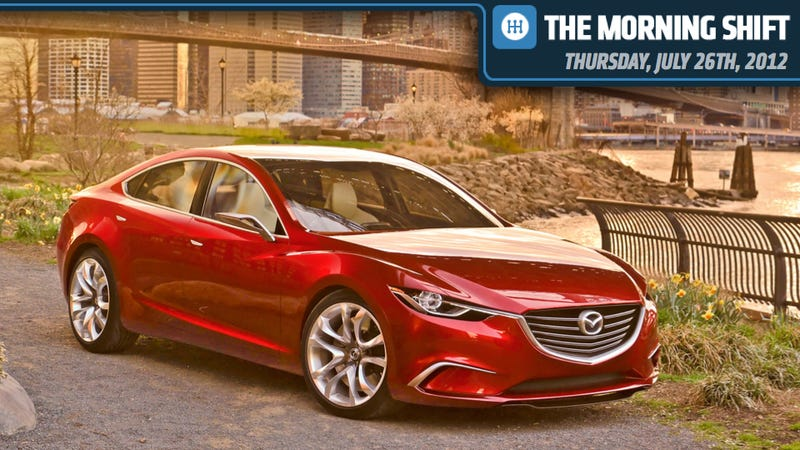 Illustration for article titled Volkswagen Is Rolling, Tesla Seems Stalled, And Mazda Goes To Russia