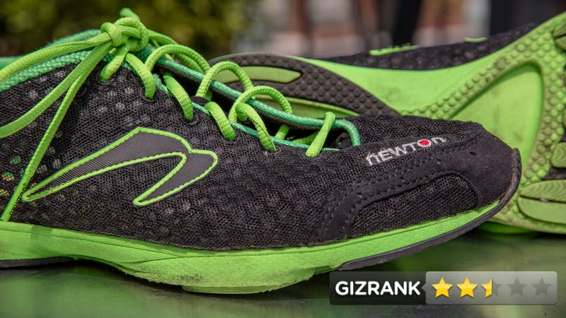 Illustration for article titled Newton MV² Racing Flat Review: Hybrid Footwear That's Halfway Good