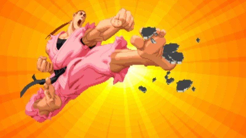 Dan Hibiki from Street Fighter Alpha 2