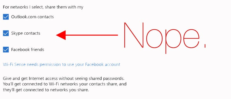 Illustration for article titled Why the Hell Is Windows 10 Sharing My Wifi Passwords?
