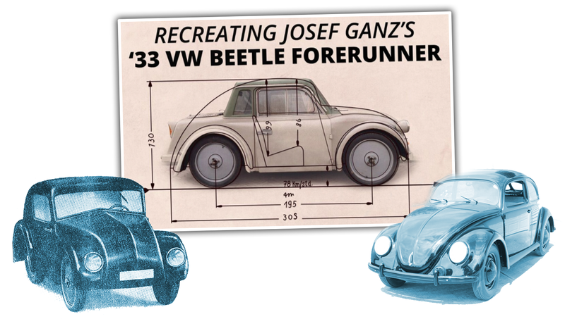 Illustration for article titled The Only Surviving Example Of The Volkswagen Beetle's Forgotten Ancestor Is Going To Be Restored
