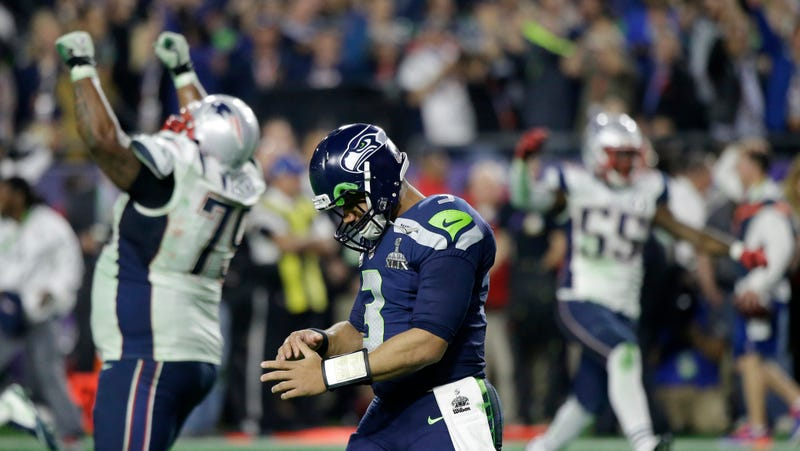 Illustration for article titled Russell Wilson's Super Bowl Interception Drove The Seahawks Mad