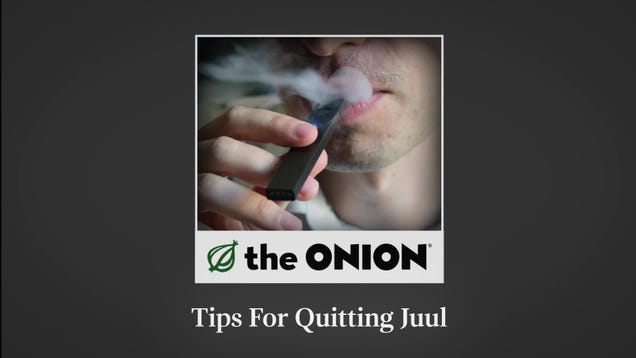 Tips For Quitting Juul