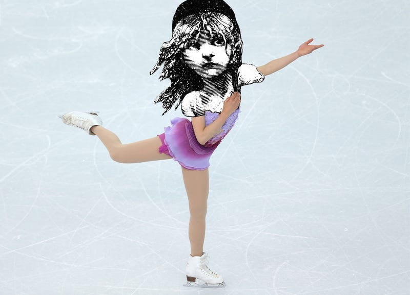 Illustration for article titled Why Does Every Olympian Skate To Les Misérables?