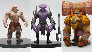 Illustration for article titled Dota Renders Sure Are Detailed
