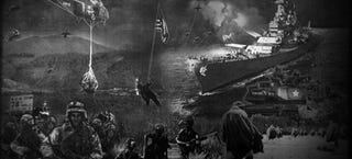 Illustration for article titled Korean War memorial is a historical photoshop horror