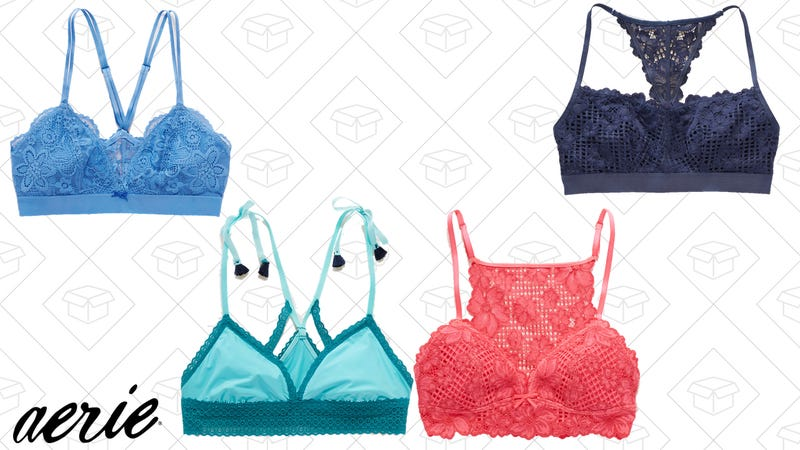 2-for-$28 bralettes | 28% off bras, swimwear, and apparel with the code BEADIT