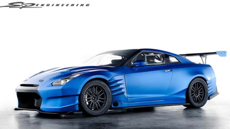Illustration for article titled Here Is The Nissan GT-R That Will Be In 6 Fast 6 Furious