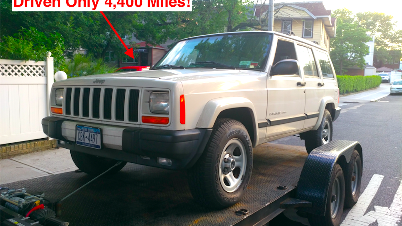 Someone Just Snagged The Jeep Cherokee Barn Find Of Century